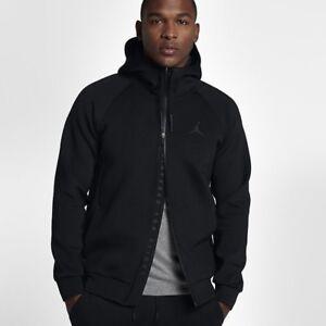 Lifestyle Jordan Hoodies Fleece Tech Flight Nike Rrp£119 95 Medium Black wxO4Bndvq