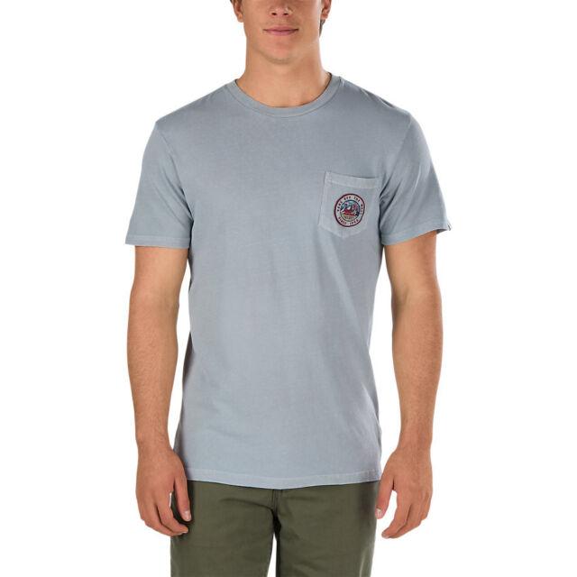 cf1fafe3a9 VANS off The Wall (bear Patch) Pocket Tee T Shirt Grey Sz Mens Small ...