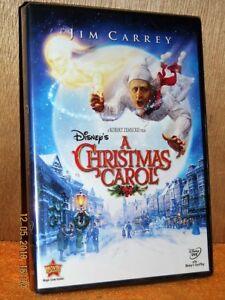 Christmas Carol (DVD, 2010) NEW Jim Carrey Steve Valentine Daryl Sabara 786936805048   eBay