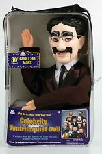 GROUCHO MARX VENTRILOQUIST DUMMY DOLL PUPPET! NEW!