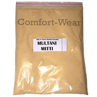 MULTANI MITTI FULLER'S EARTH Powder Glowing Face Pack Smoothen Skin 100gm/3.5 OZ