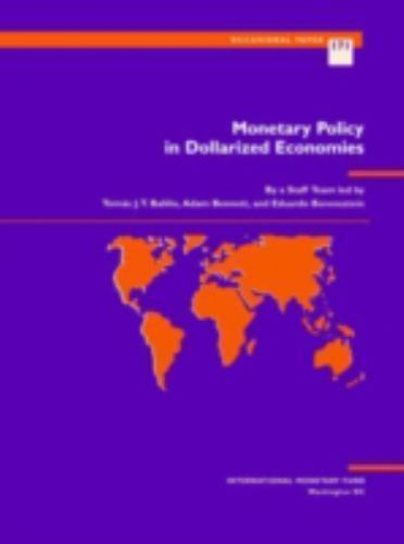 """Monetary Policy in Dollarized Economies by Balino, Tomas J. T. """