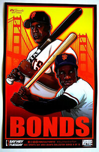 Barry Bonds Bobby 2018 San Francisco Giants Authentic Fan Cheer Card Baseball