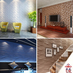 Details about Wallpaper 3D Wall panel Decorative Natural Bamboo Wall  Ceiling Tiles Cladding UK