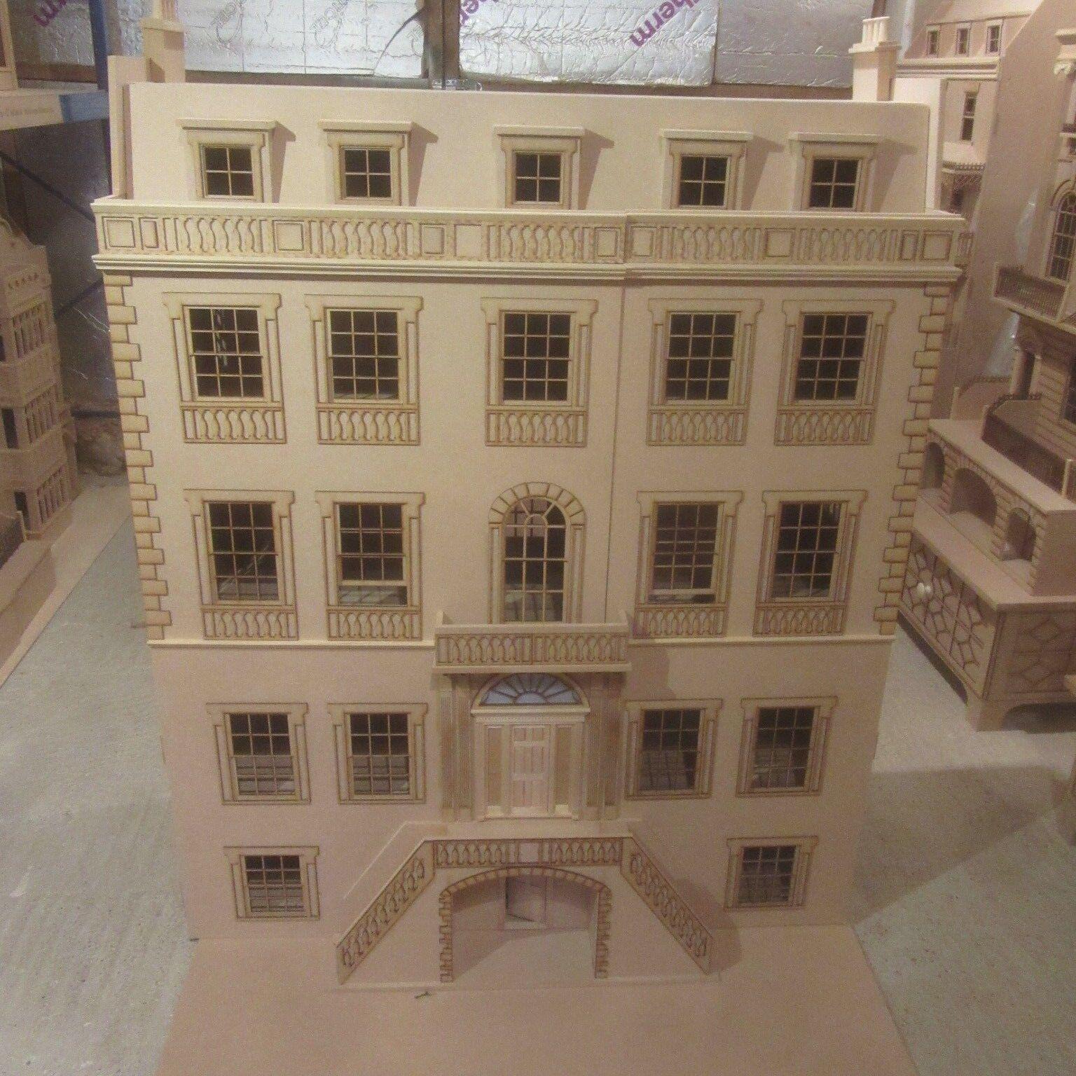 Casa De Muñecas 1 12th el Highcliff Manor House Inc ático Dhd 44  de ancho