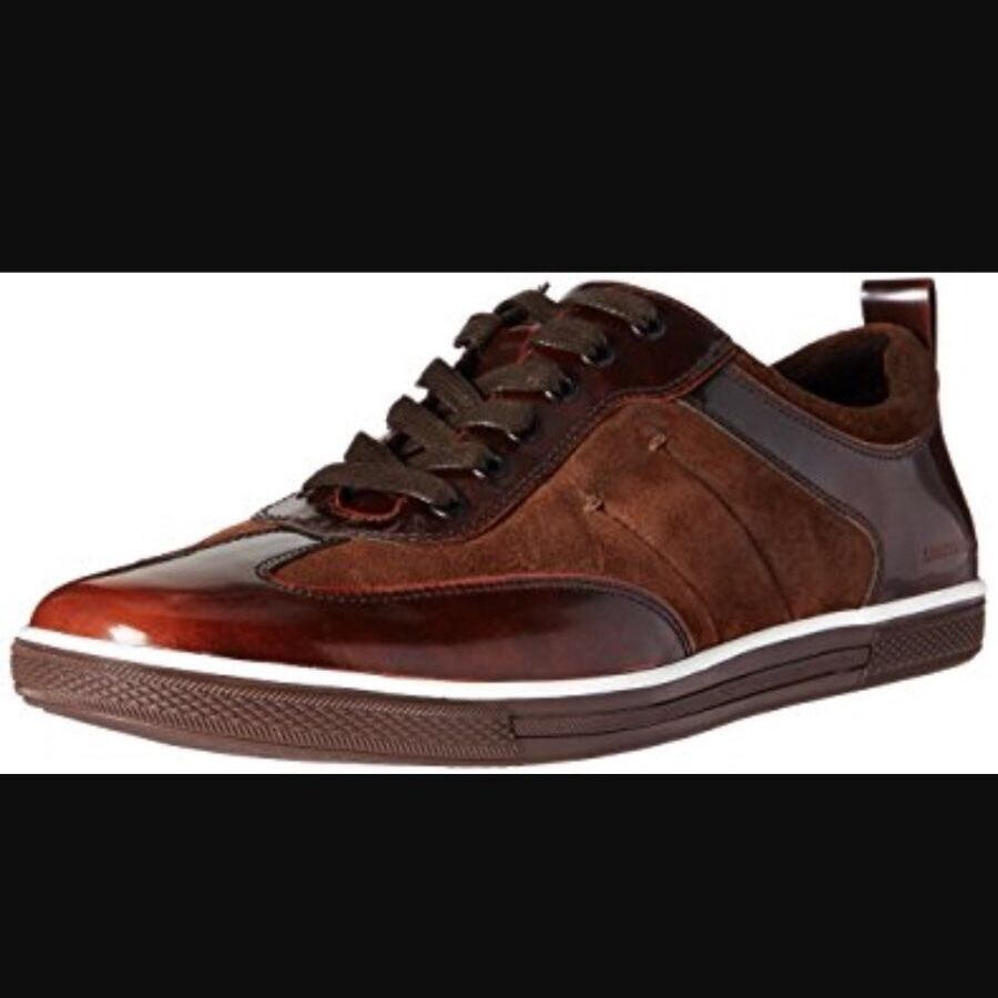 Kenneth Cole Homme  DOWN THE HATCH SPIRAL Down  Low Top baskets  msrp  118