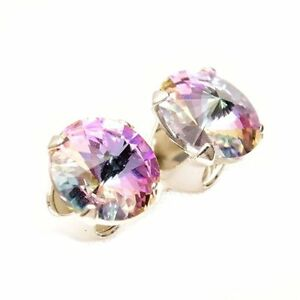925-Sterling-Silver-6mm-Starlight-Stud-Earrings-Made-With-Crystal-From-SWAROVSKI