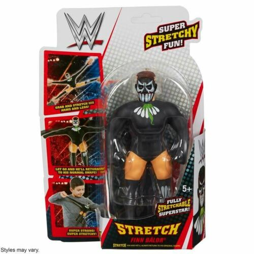 "WWE Stretch Armstrong ~ FINN Balor ~ 7/"" Mini Stretch Figure"