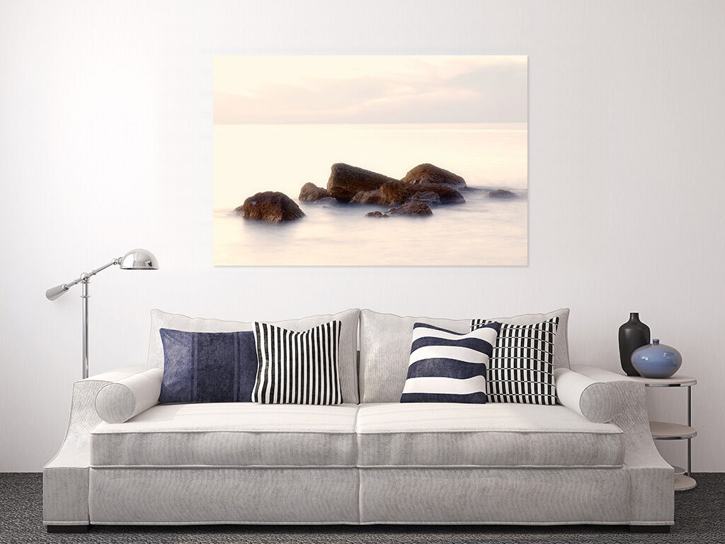3D Einfach Stein Meer Himmel 85 Fototapeten Wandbild BildTapete AJSTORE DE Lemon