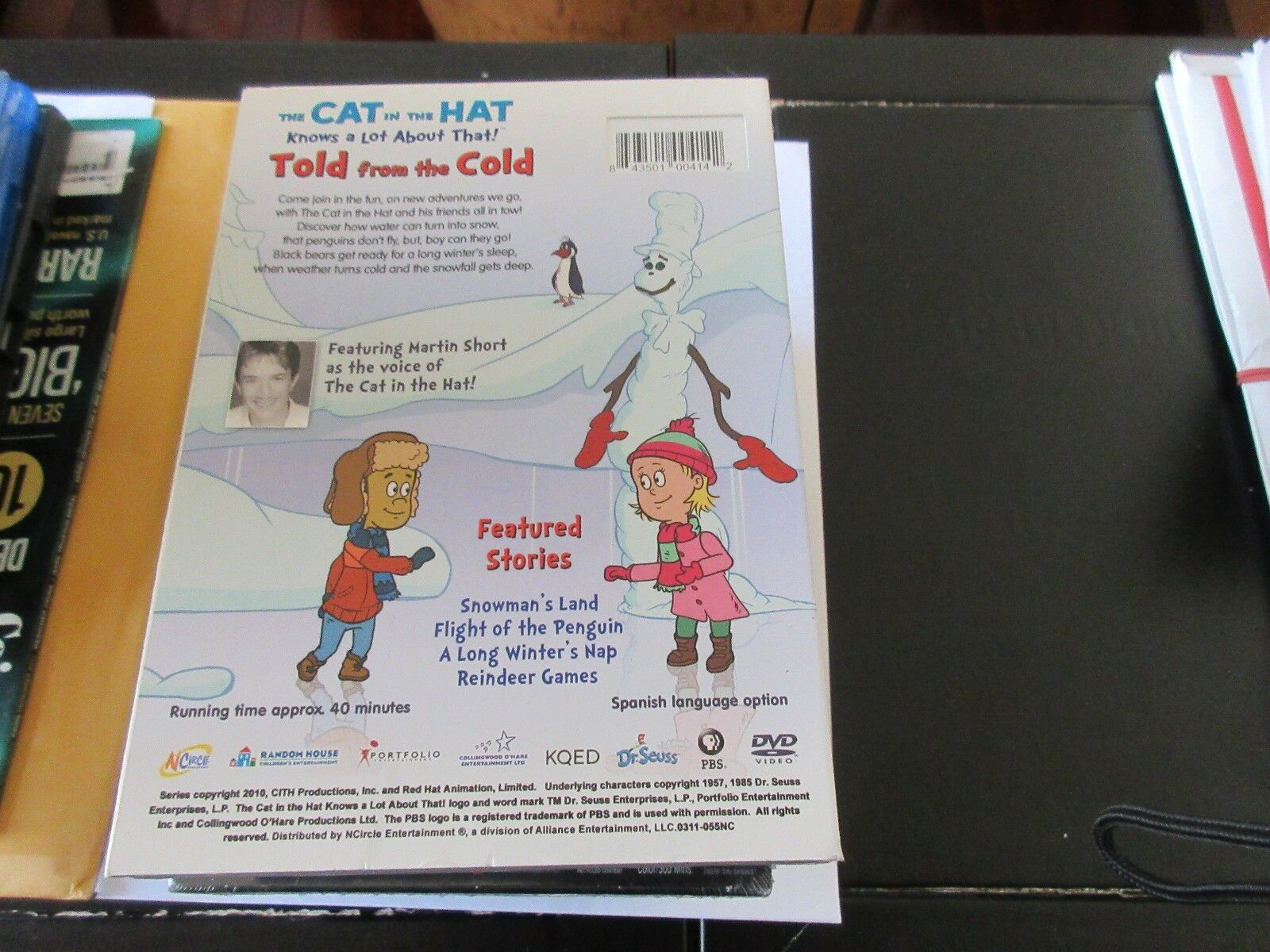 The Cat In The Hat , Told From The Cold , DVD