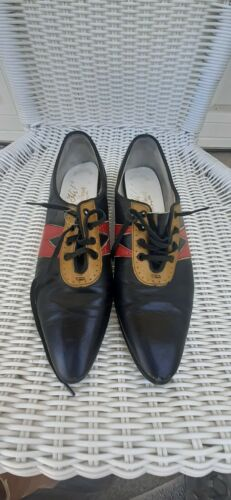 VINTAGE 1930s 40s 1950'S WOMEN'S  SHOES, , LEATHER