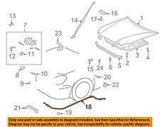53630-53010 Lexus 01-05 IS300 Genuine OEM New Hood Lock Control Release Cable