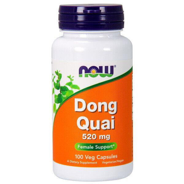 Dong Quai , 520mg X 100 Cápsulas Vegetarianas - Now Foods