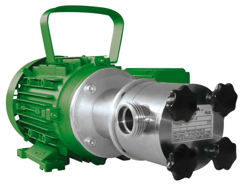 NEOPRENE Impeller Pompa consistenti nirostar 2000-a pt, 15l min, 400v, 0,37kw, N = 1400