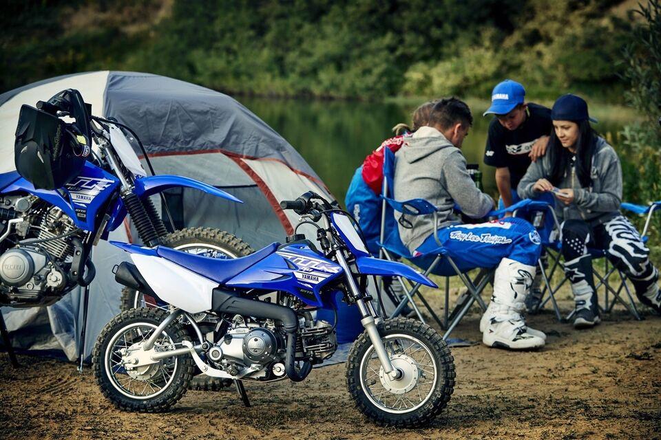 Børnecrosser, Yamaha TTRE, ccm 50