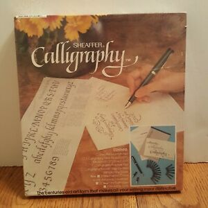 Vintage-Sheaffer-Fountain-Pen-Refillable-Calligraphy-Set-Kit-72260-1195-NEW
