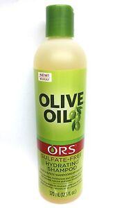 ORGANIC Root Stimulator olio d'oliva Solfato Free Idratante Shampoo 370ml