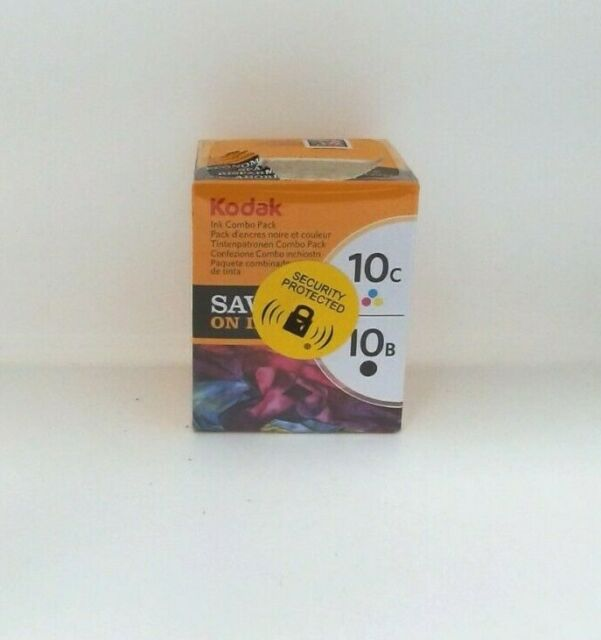 Kodak 10B Black + 10C Colour Ink Cartridges CAT 394 9948