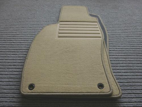 Fußmatten für Saab 9-3 II YS3F Lim.//Kombi Original Lengenfelder NEU BEIGE