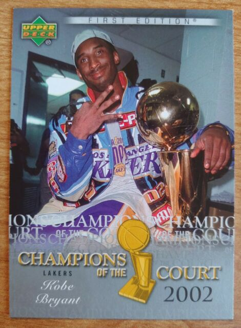 Kobe Bryant 🏀 🌟 2007-08 Upper Deck First Edition Champions of the Court #CC-KB