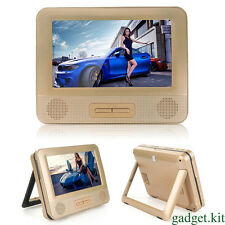 """New 7.8"""" Dual LCD Screen Car Auto Portable DVD Player with Game Pad Controller"""