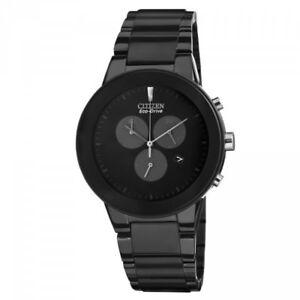 NEW-Citizen-Axiom-Men-039-s-Chronograph-Eco-Drive-Watch-AT2245-57E