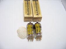 2 Realistic GOLD PIN 6X8 A Vtg Stereo Amp Set Pair Vacuum Tube Part NOS NIB
