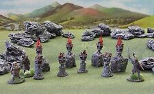 'BRAZIERS PACK' - DARK AGE SUITED - 28mm - PRE PAINTED TERRAIN