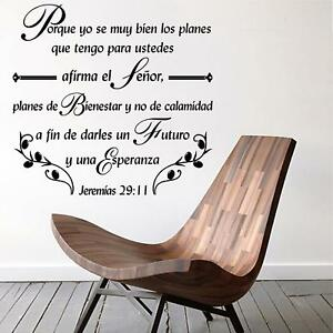 Image is loading Wall-Decal-Inspirational-Wall-Decal-Christian-Decor-Biblia-  sc 1 st  eBay & Wall Decal. Inspirational Wall Decal. Christian Decor. Biblia ...