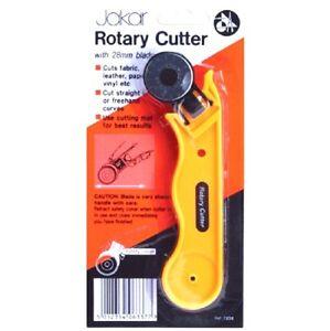 Jakar 28mm Piccolo Rotante Cutter Quilters Tessuto Cucito Pelle Craft da Taglio