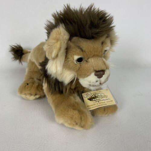 Webkinz Signature Ganz Lion Plush Stuffed Animal WKS1018