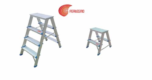 LADDER ALUMINIUM DOUBLE 2 STEPS o 4 steps VALEX