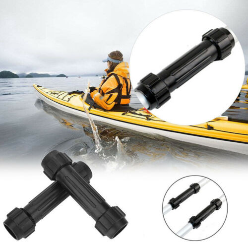 2 PACK Kayak Paddle Boat Oars Canoe Rafting Paddles W// Connector 28mm Parts Tool