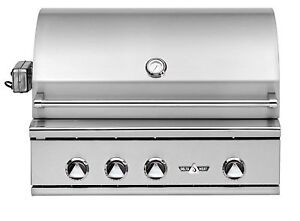 Delta Heat 32 Inch Built-In Natural Gas Grill with Rotisserie & Sear Zone