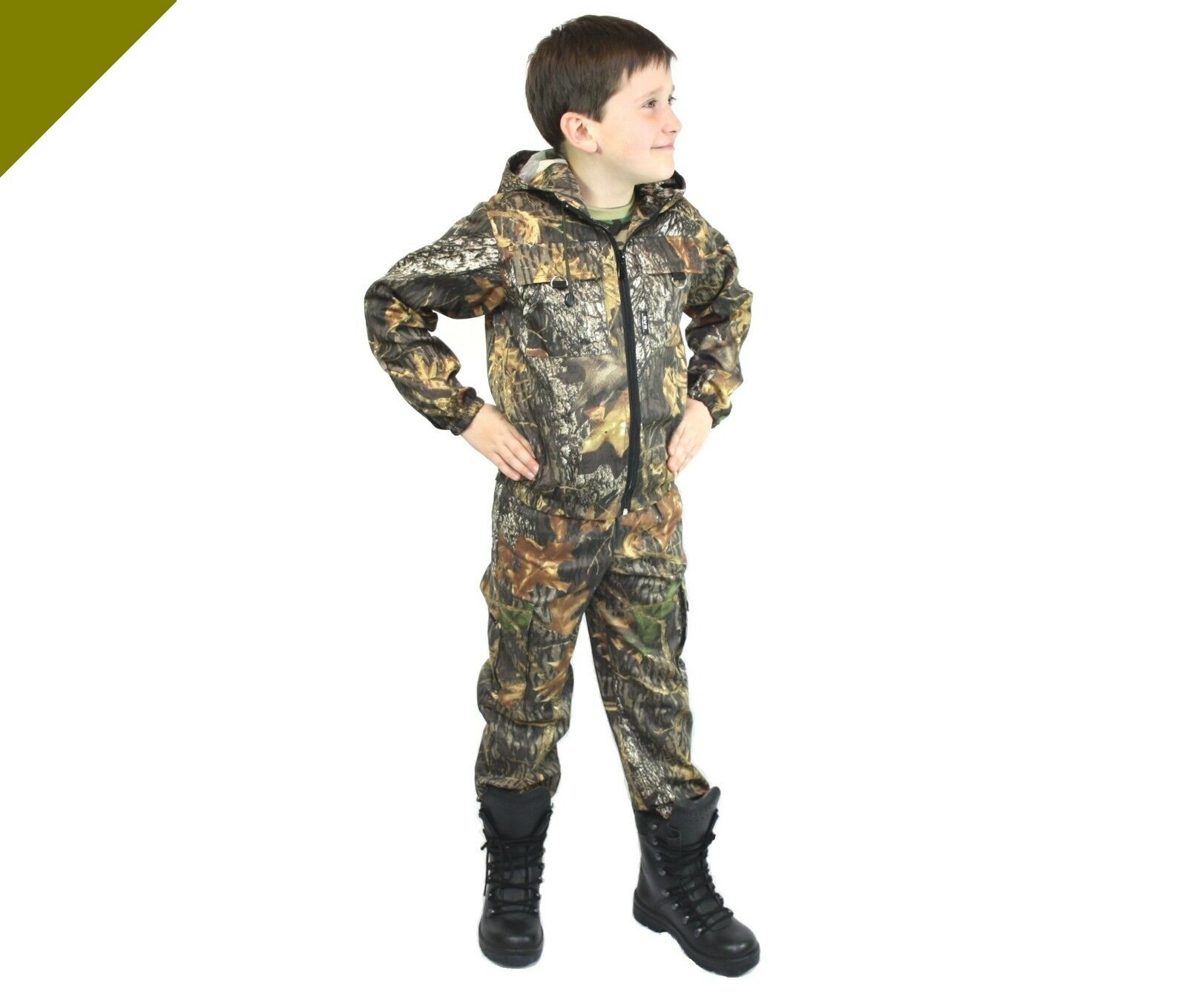 TUTA Pantaloni Giacca foresta bambini bambini foresta adolescenti a pesca outdoor migratori Paintball Tarn 6a035c