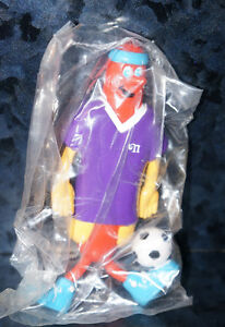 NATHAN-039-S-HOT-DOG-Meal-Toys-The-Franksters-SOCCER-Sports-Vintage-Children-039-s-Kids