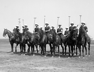 "1916 Police Polo Team, Sheepshead Bay, NY Vintage/ Old Photo 8.5"" x 11"" Reprint"