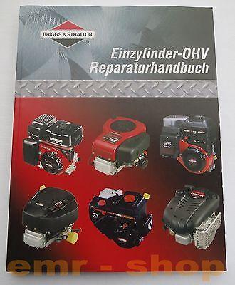 Briggs /& Stratton Reparaturhandbuch Einzylinder OHV Motoren Rasenmäher
