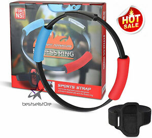 For-Nintendo-Switch-Ring-Fit-Adventure-Fitness-Healthy-Exercise-Ring-Con-Strap