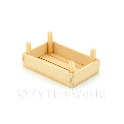 Other Smart Dolls House Miniature Small Wood Vegetable Crate