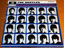 """BEATLES - A HARD DAY'S NIGHT LP - 12"""" 33 RPM - FRENCH STEREO - PATHE MARCONI EMI"""