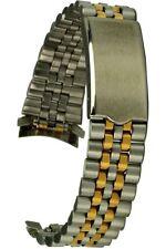 Edelstahluhrarmband bicolor 19 mm Jubileestyle Ersatzband Uhrband