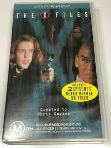 The-X-Files-VHS-Video-Tape-2-Titles-WETWIRED-AVATAR-Brand-New-amp-Still-Sealed