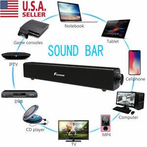 Sound Bar TV Soundbar Wired & Wireless Bluetooth Home Theater TV Speaker NEW