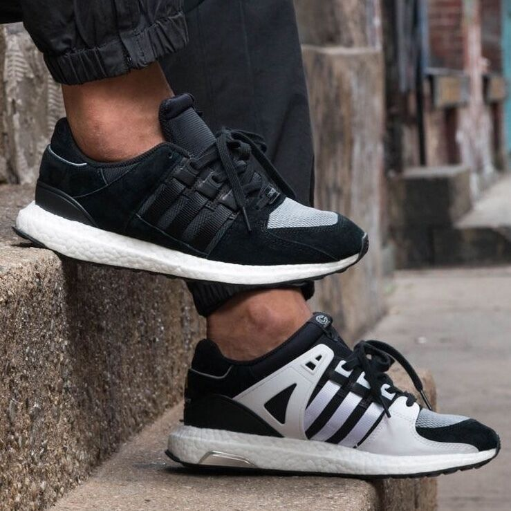 finest selection 59b1a 28afc NIB Adidas x Concepts Equipment EQT Support 93/16 Sneakers Black White  S80560