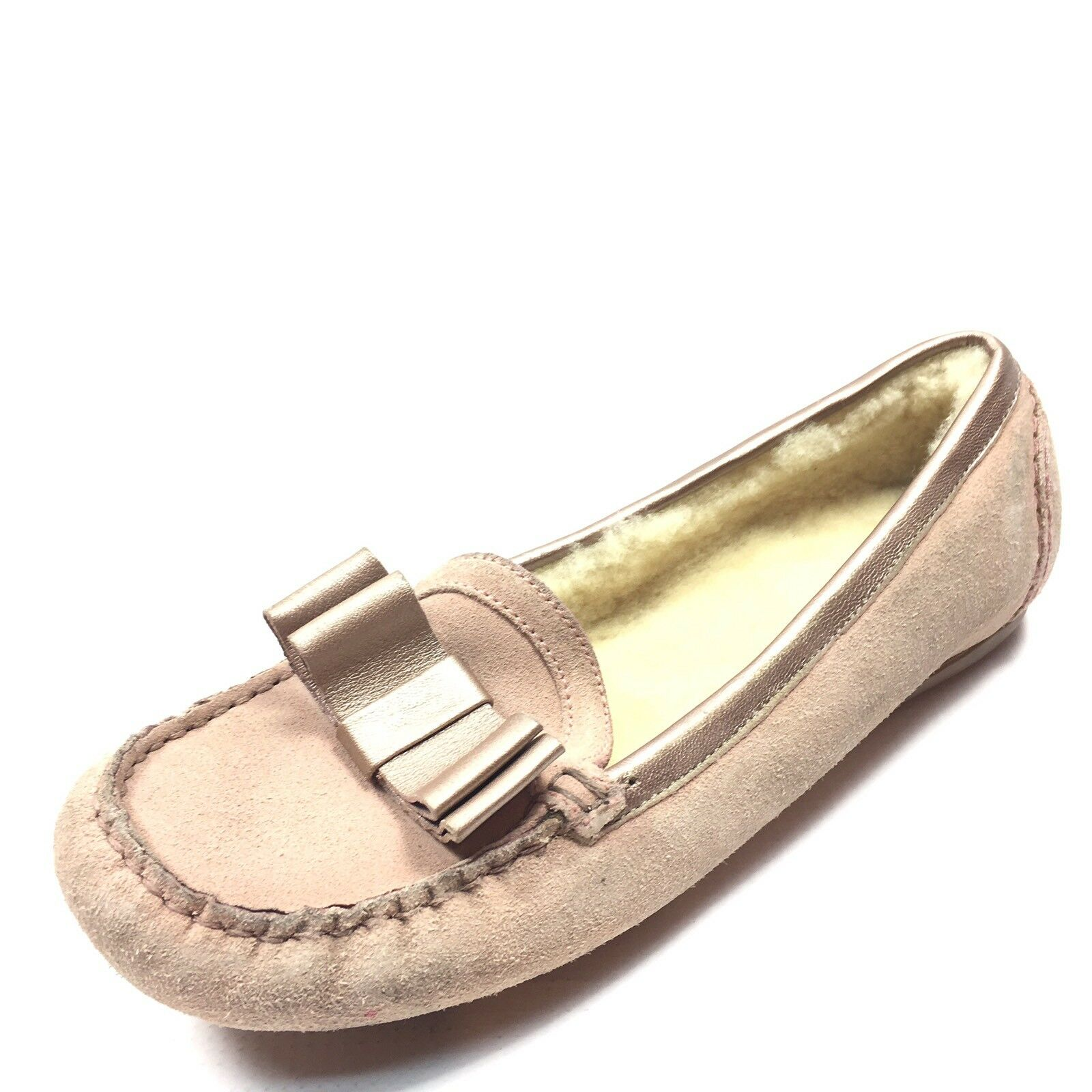 Cole Haan Women's Beige Suede Moccasin Loafers shoes Size 6.5 M