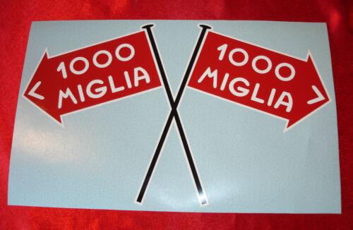 MILLE MIGLIA DECAL STICKER