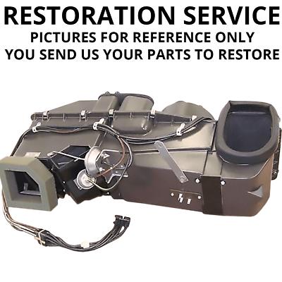 Mopar B Body 62 63 64 65 NON AC Heater Box Restoration Rebuild Kit Set DMT