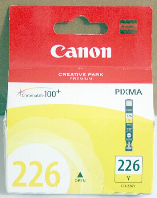 * GENUINE * CANON PIXMA CLI-226Y YELLOW INK CARTRIDGE (9ML) - 4549B001