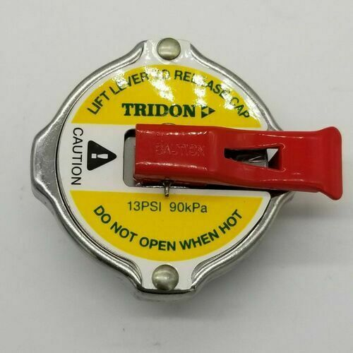 Tridon CA1390L RECOVERY RADIATOR CAP LEVER RELEASE 13PSI / 90kPa